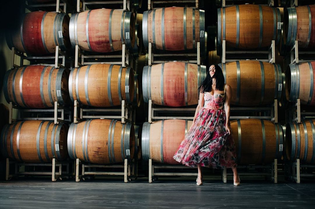 WWE Star Nikki Bella Promotes Wine With Stunning Insta Photos 114
