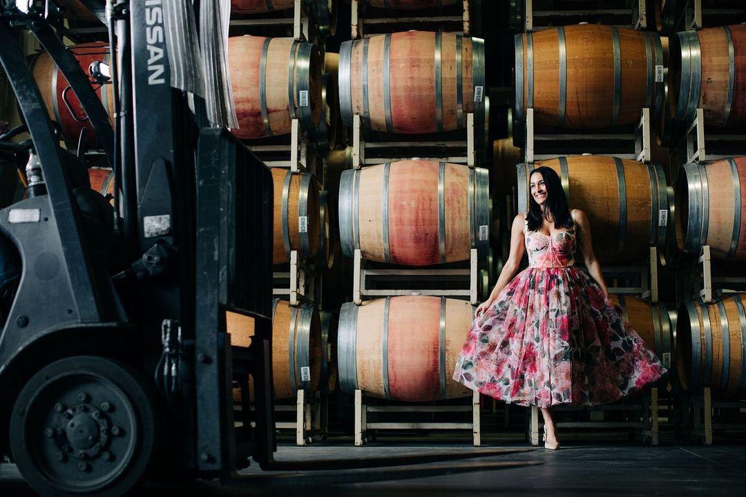 WWE Star Nikki Bella Promotes Wine With Stunning Insta Photos 113
