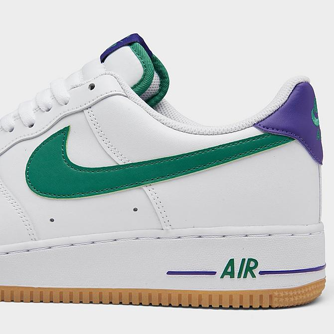 Now Available Nike Air Force 1 '07 'Green/Purple'  FNL: JD: