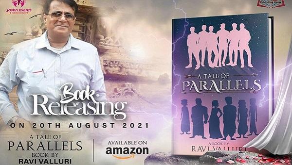 Ravi Valluri's 'A Tale of Parallels' instills life to mythic characters trinitymirror.net/news/ravi-vall… @ravi_valluri @GMSRailway @DrmChennai #mythology #Ataleofparallels #BookBoost