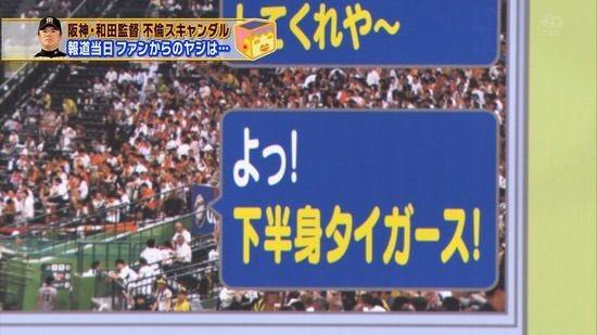 阪神タイガースの和田元監督の不倫メールに対して?ファンと家族の反応!