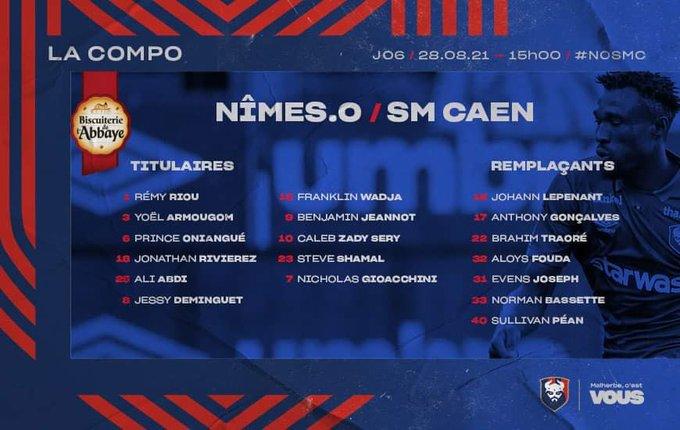 [6è journée de Ligue 2] Nîmes Olympique - SM Caen E94FXvRXMAARdv6?format=jpg&name=small