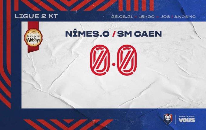 [6è journée de Ligue 2] Nîmes Olympique - SM Caen E94S2fMX0AIlJE3?format=jpg&name=small