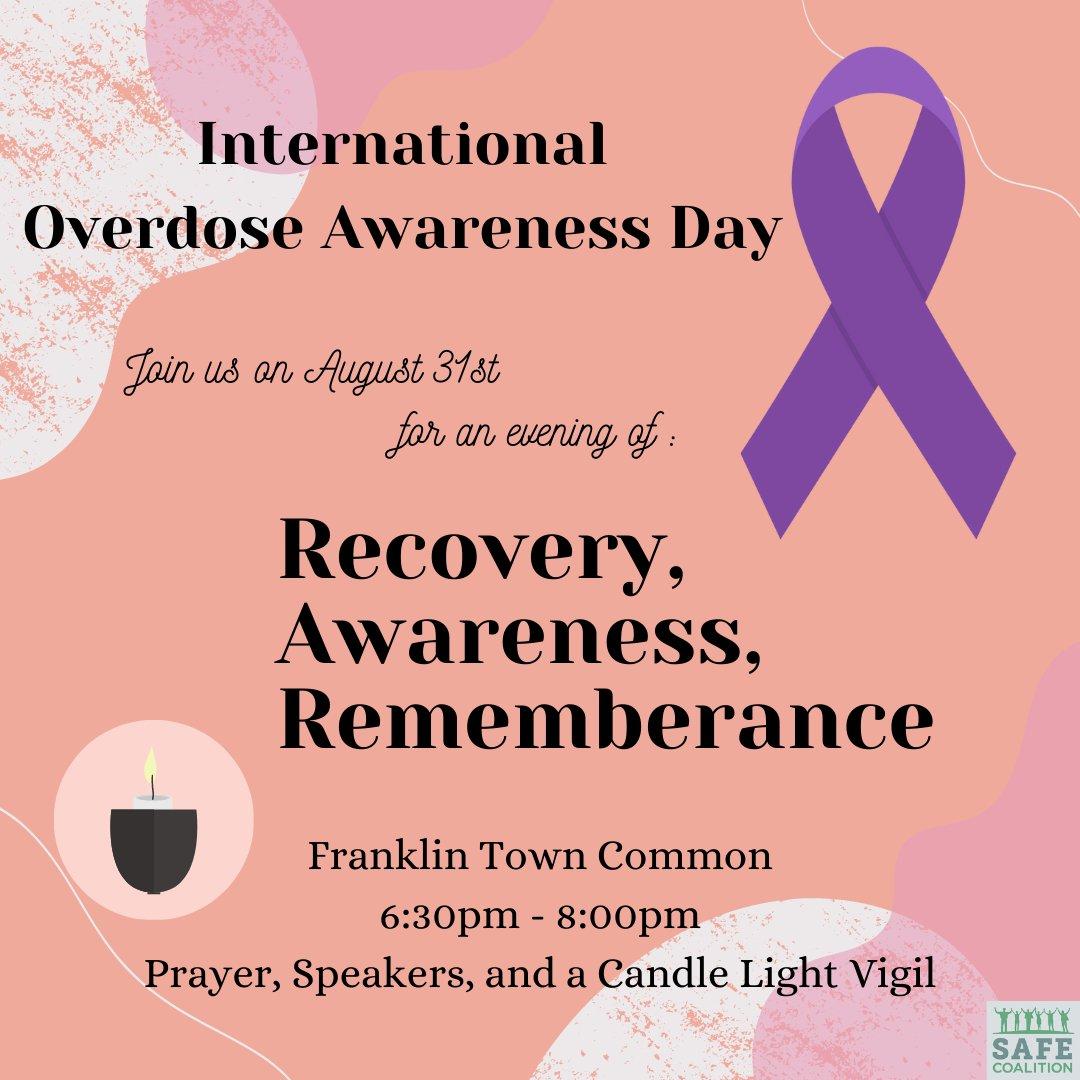 International Overdose Awareness Day - August 31, 2021