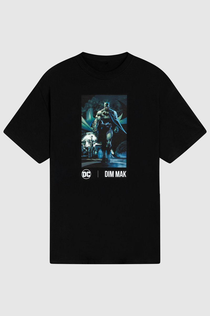 Now available on site and in our app: DC X DIM MAK. @steveaoki @DCComics @JimLee @dimmak