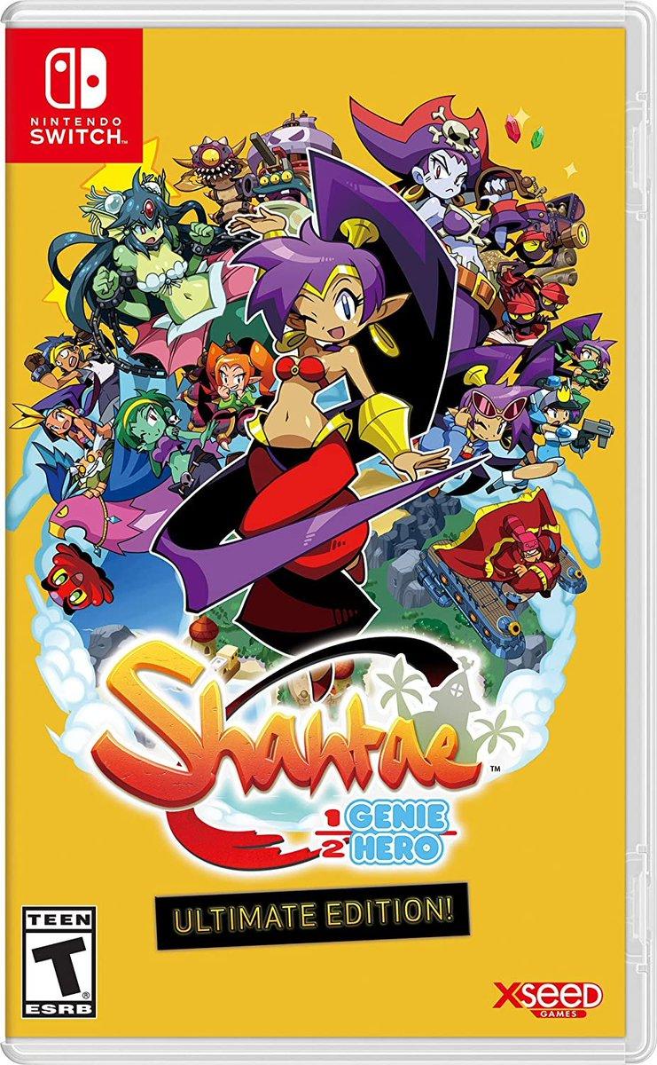 Shantae: Half-Genie Hero - Ultimate Edition (Switch) is back up on Amazon:   $29.99