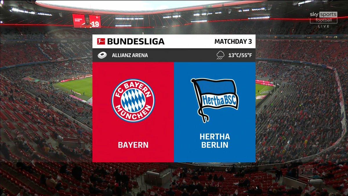 Full match: Bayern Munich vs Hertha Berlin