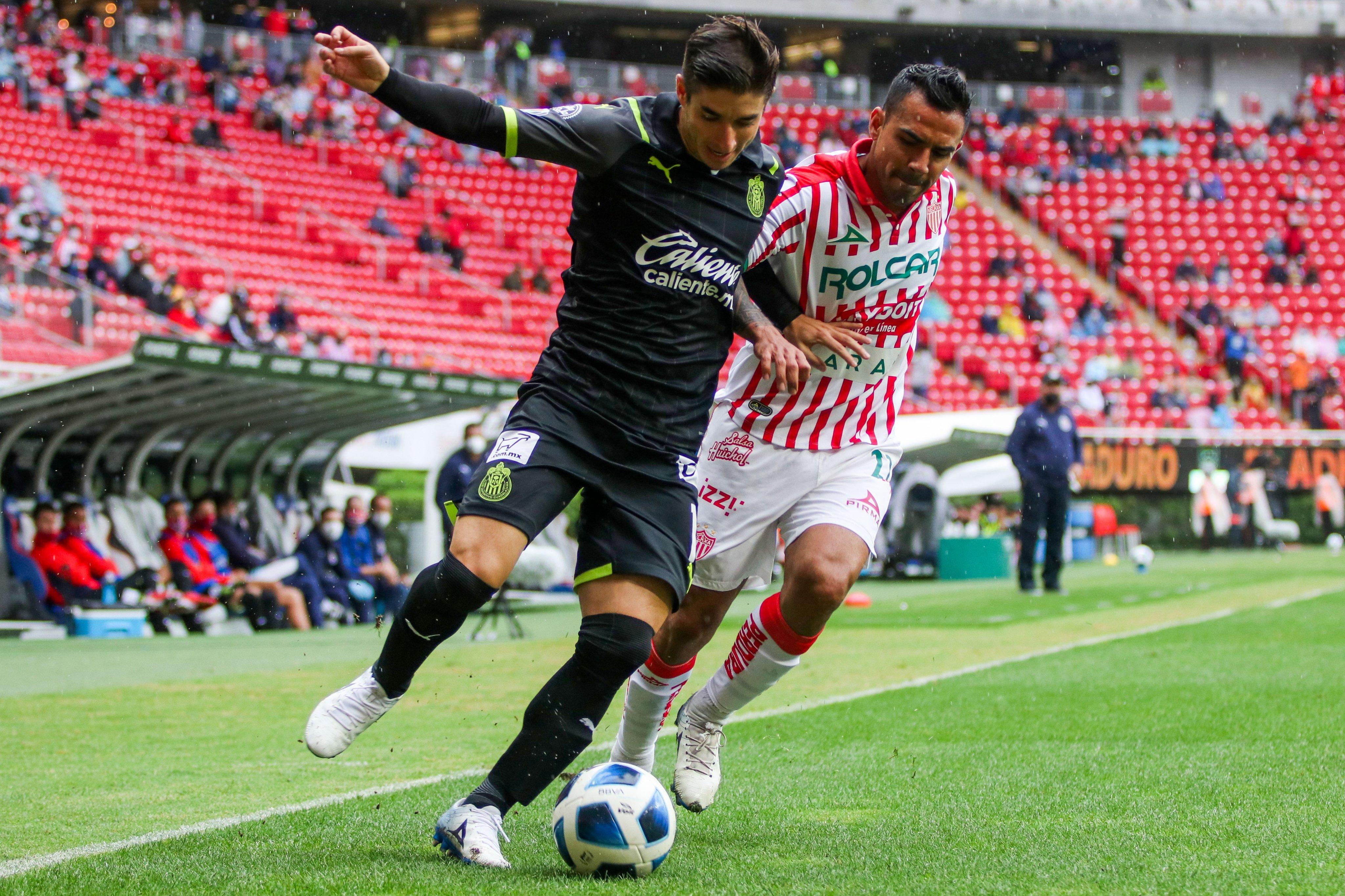 Chivas vs Necaxa 1-1 Torneo Apertura 2021