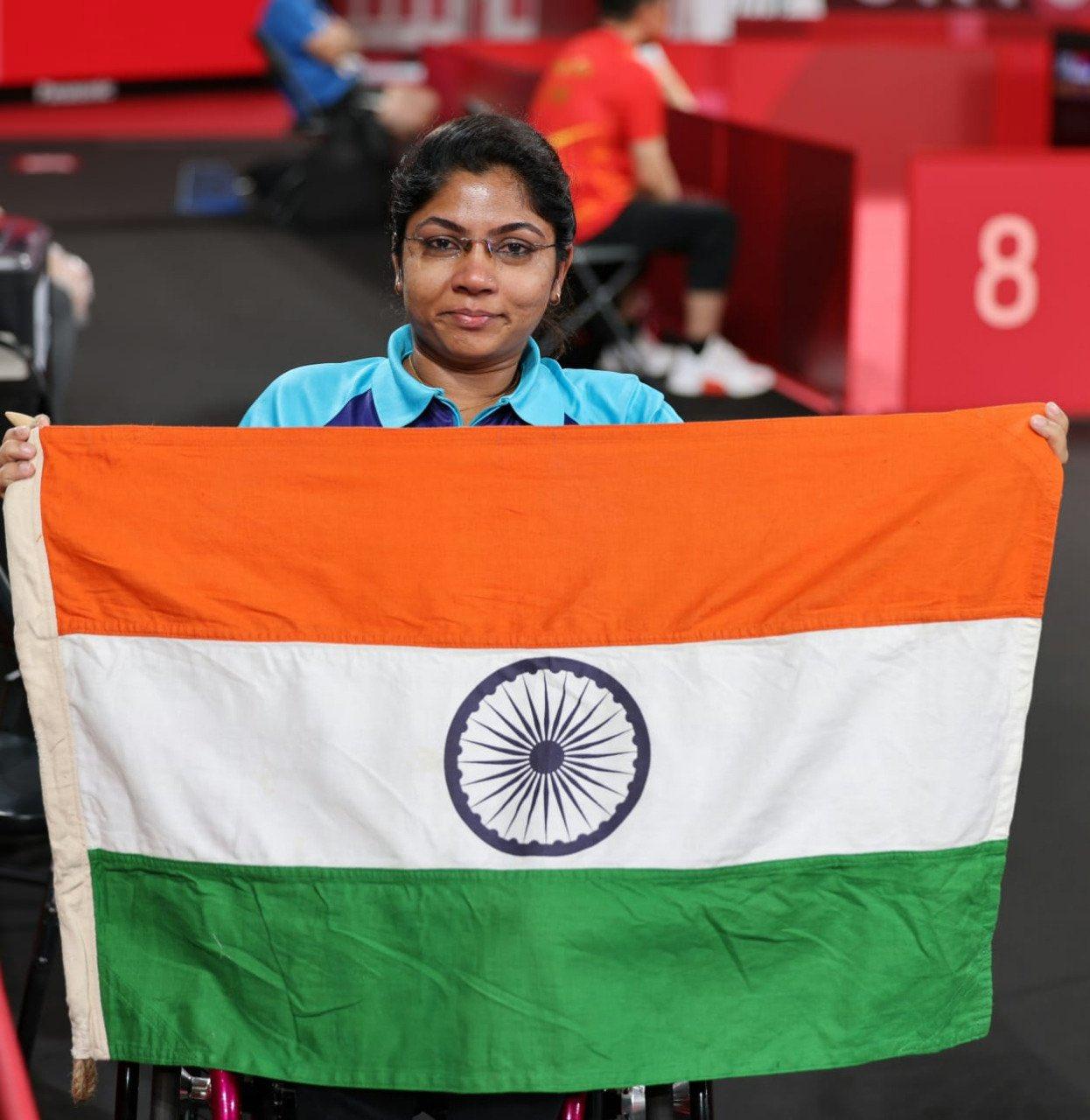 Tokyo Paralympics में टेबल टेनिस में भाविनाबेन हसमुखभाई पटेल ने रजत पदक हासिल किया