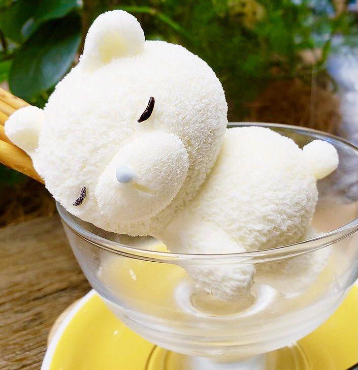 梅田駅近くの『daily dose coffee』に注目!くまの形をしたアイス『くまガード』が可愛すぎる!