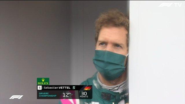 """Nonostante abbia aggiunto al suo bottino in campionato un quinto posto,Sebastian Vettel hadefinito come """"uno scherzo"""" il fatto che siano stati assegnati dei punti per la gara."""