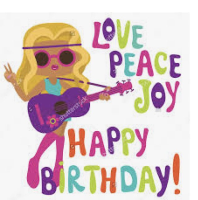 Happy Hippie Birthday Liz! Hope you have a beautiful day!!