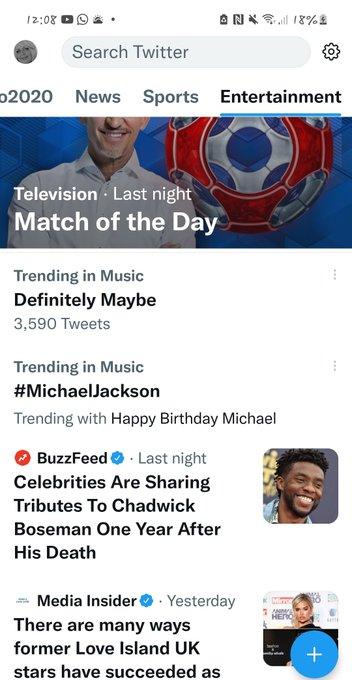 Trending in the UK Happy Birthday Michael Jackson