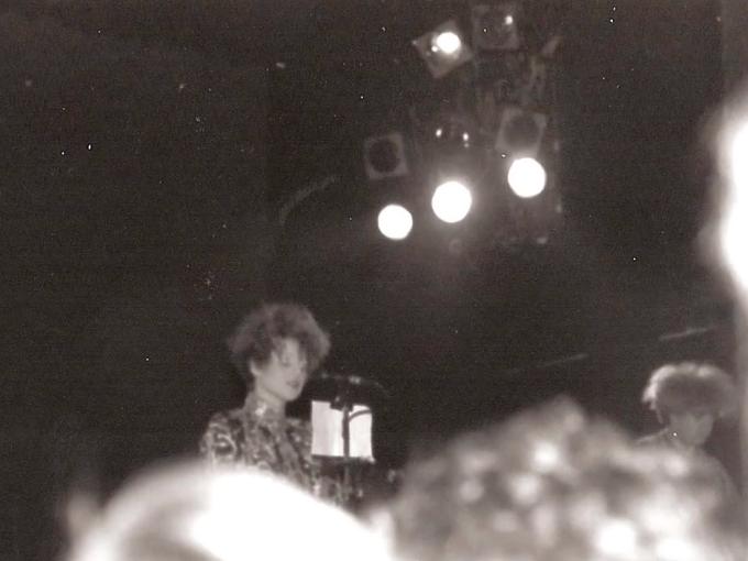 Happy birthday Liz Fraser. Cocteau Twins at The Ritz September, 1985