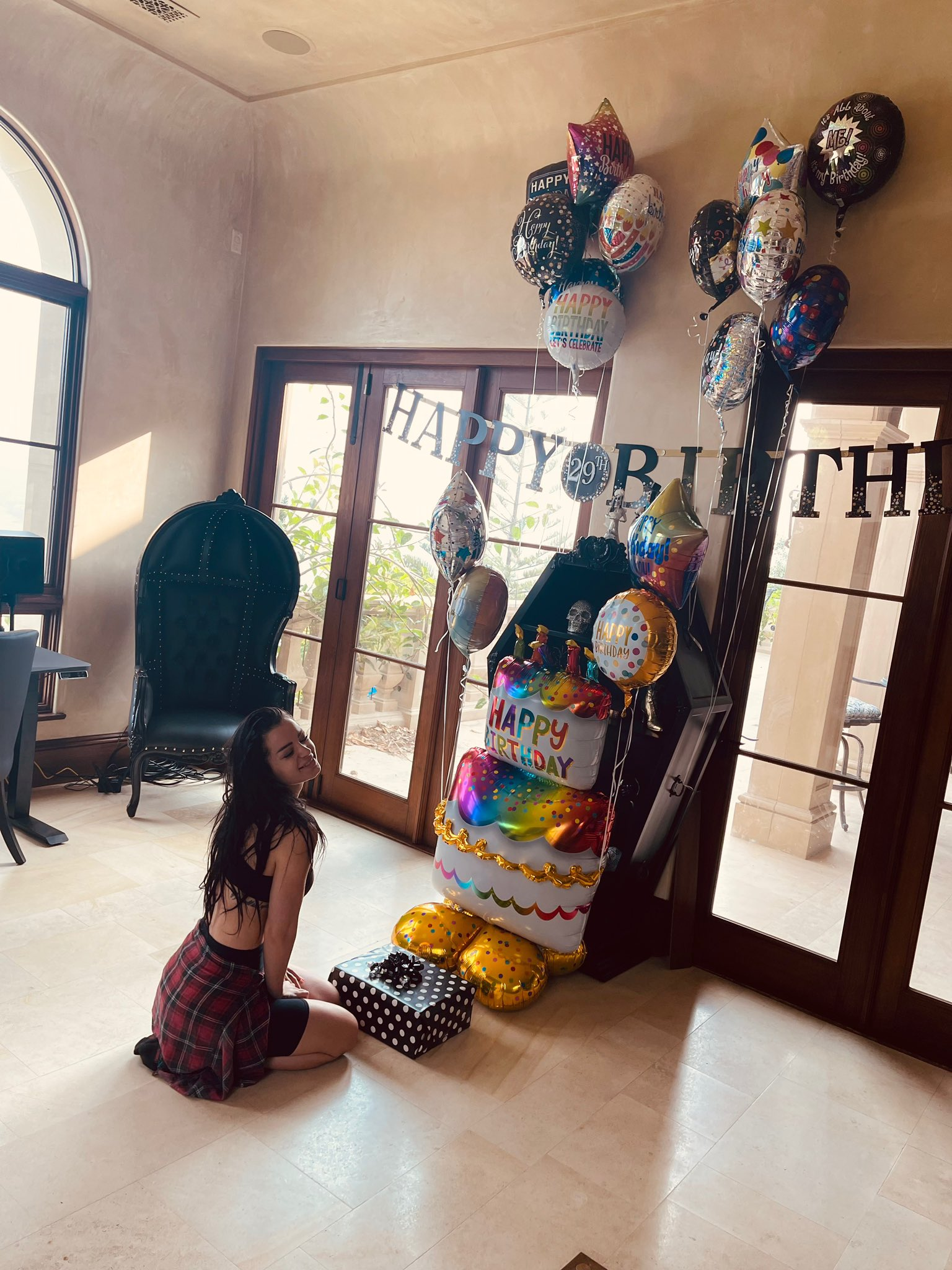 Wishes Pour In As WWE Star Paige Celebrates 29th Birthday 86