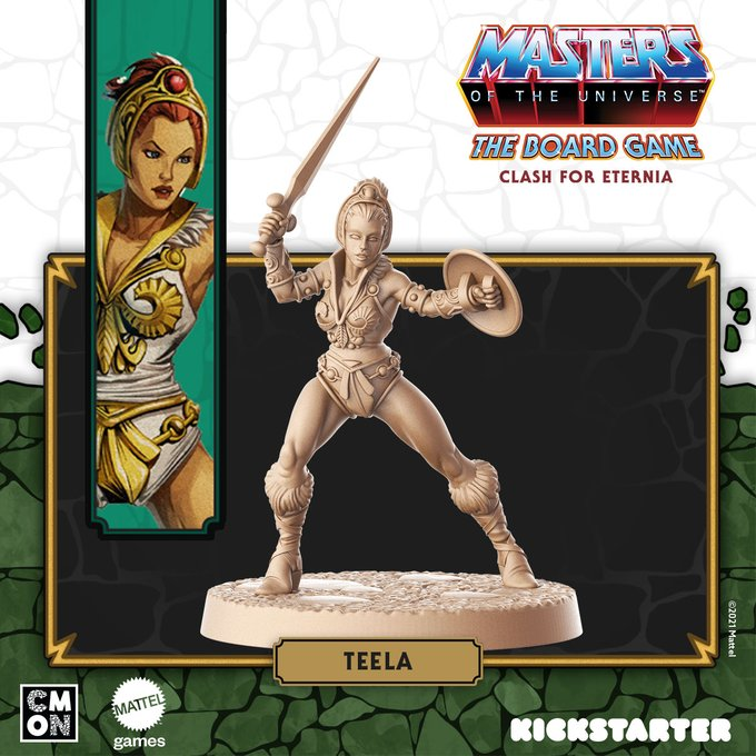 character of the game teela