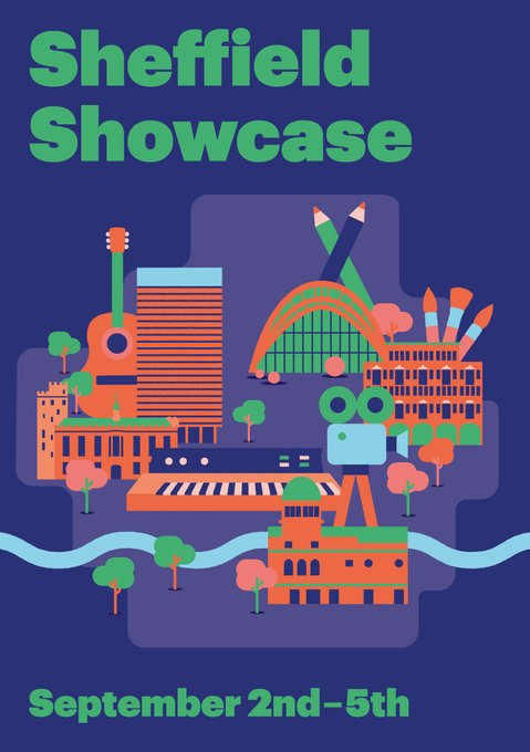 #SheffieldShowcase! 2-5 Sept. Get creative with the weekend's art events Artist palette A crafting afternoon at the Leadmill. Exhibitions at DINA, Dyson Place & Botanical Gardens. An outdoors audio installation. A meet-the-curators session. bit.ly/2UqKt2B @faveplaces