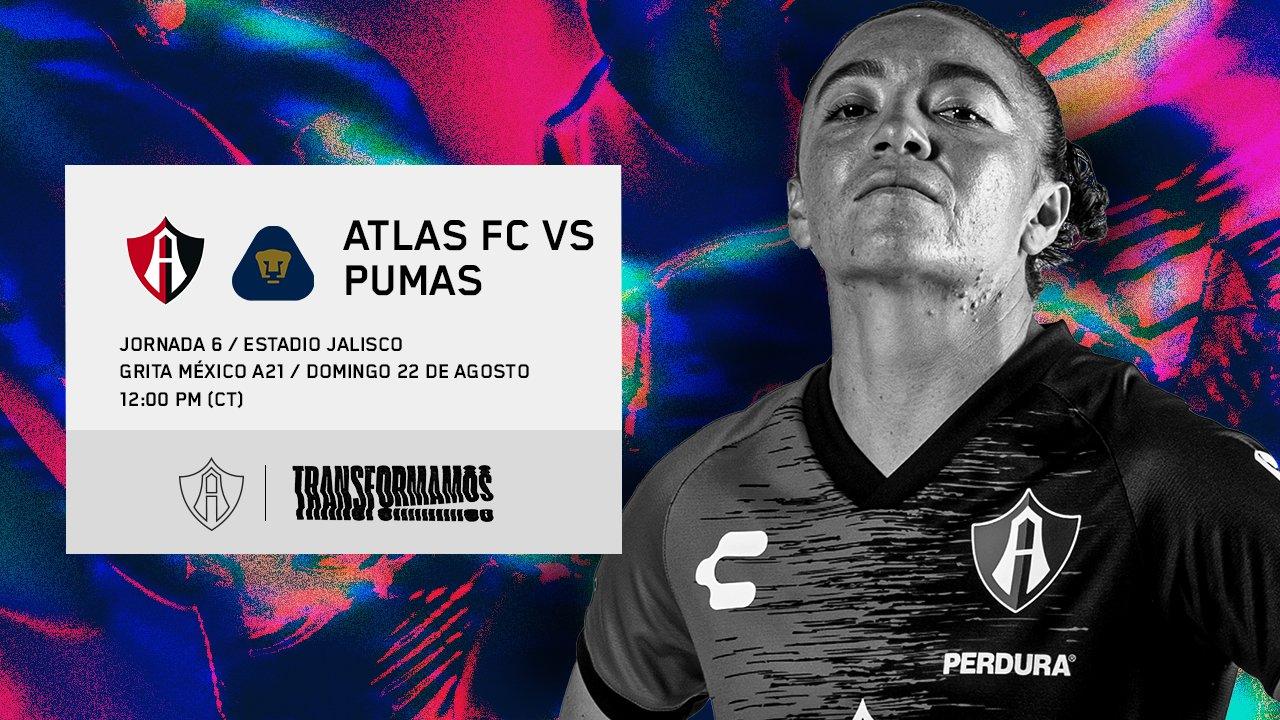 Atlas vs Pumas