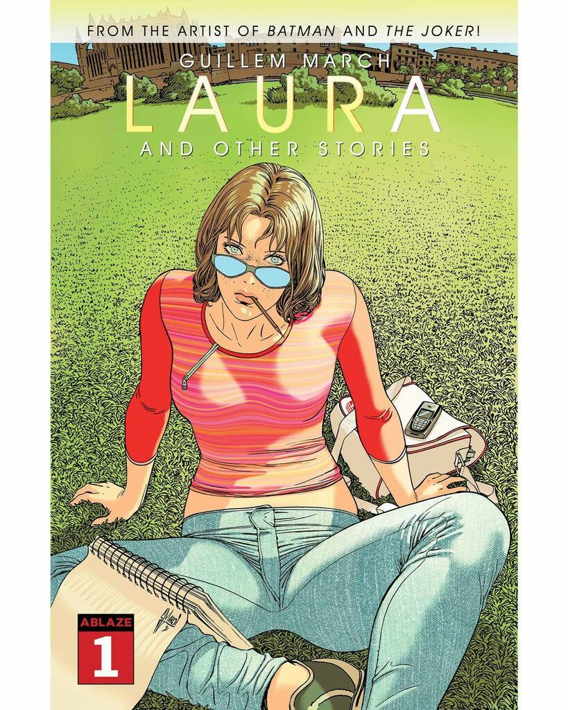 Before #KARMEN, #LAURA was the book I was more proud of. No matter it was drawn in the golden age of Nokia. @ablazepub is now launching a remastered edition. instagr.am/p/CSsQFfaKB2-/