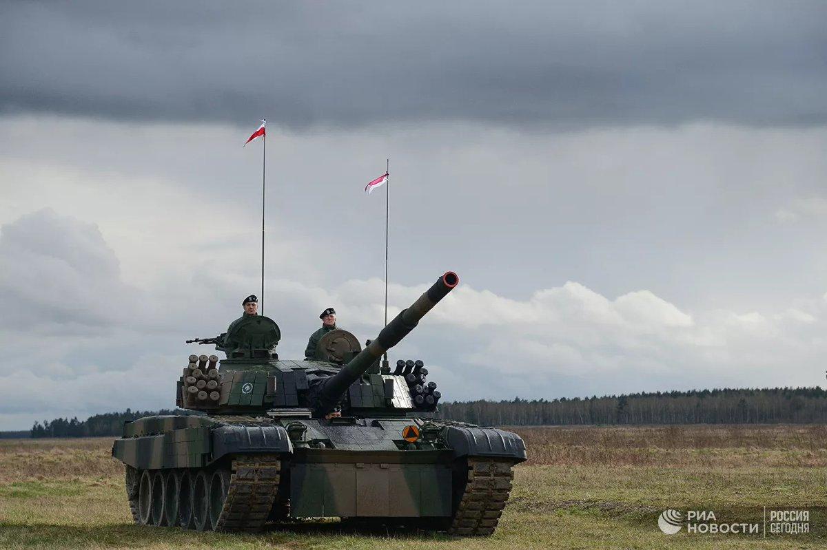 Польский генерал пожаловался на превосходство российских танков