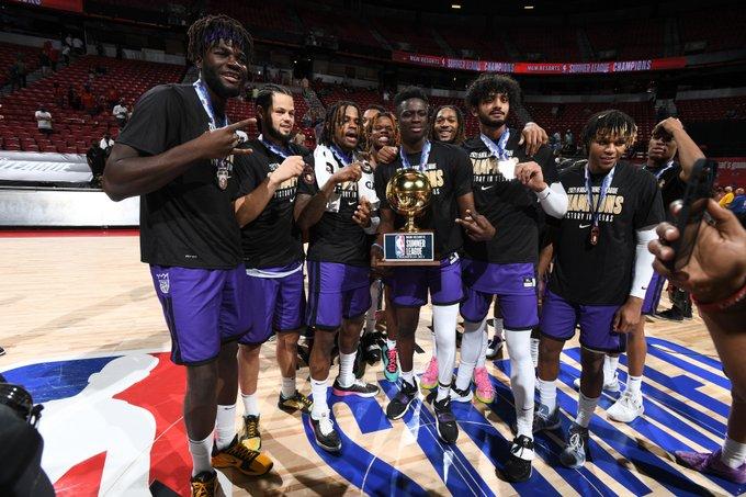 The Kings crowned NBASummer League Champs