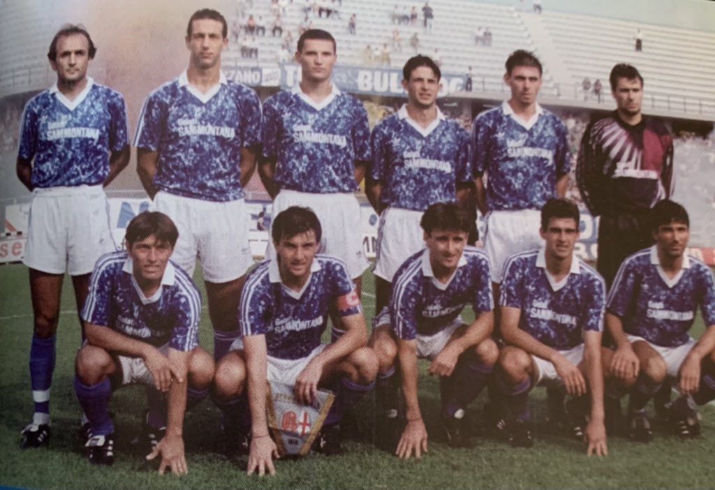Empoli 1991-92 home kit