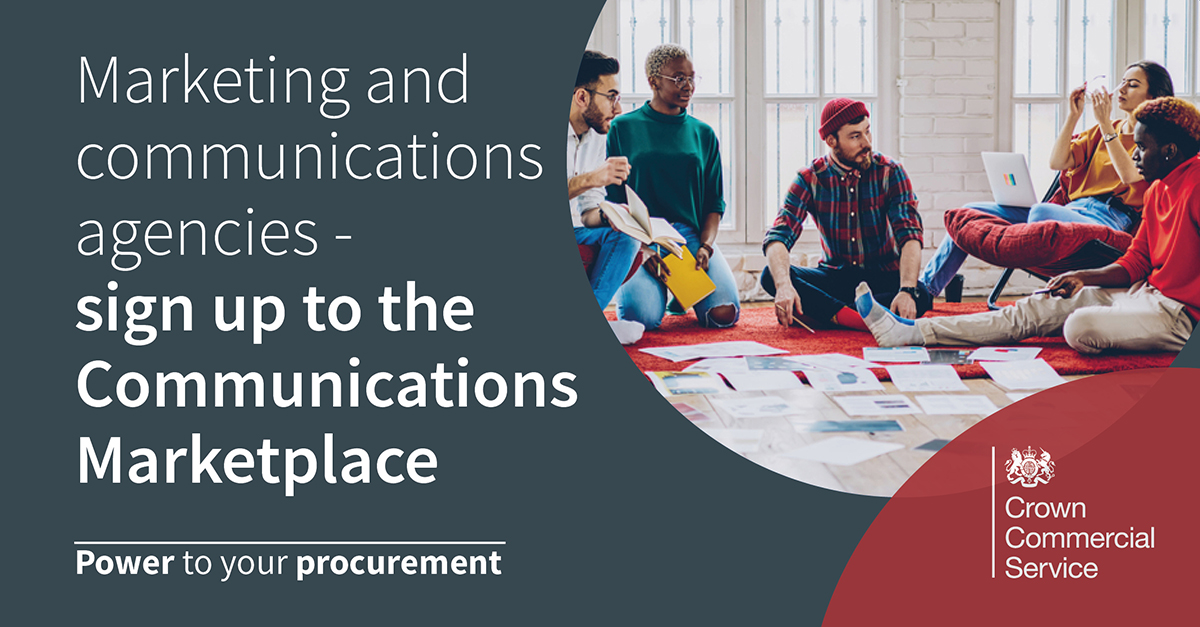 Marketing, communications, events, recruitment advertising and creative agencies: this is your opportunity to work on critical public sector campaigns #PowerToYourProcurement gcs.civilservice.gov.uk/blog/announcin…