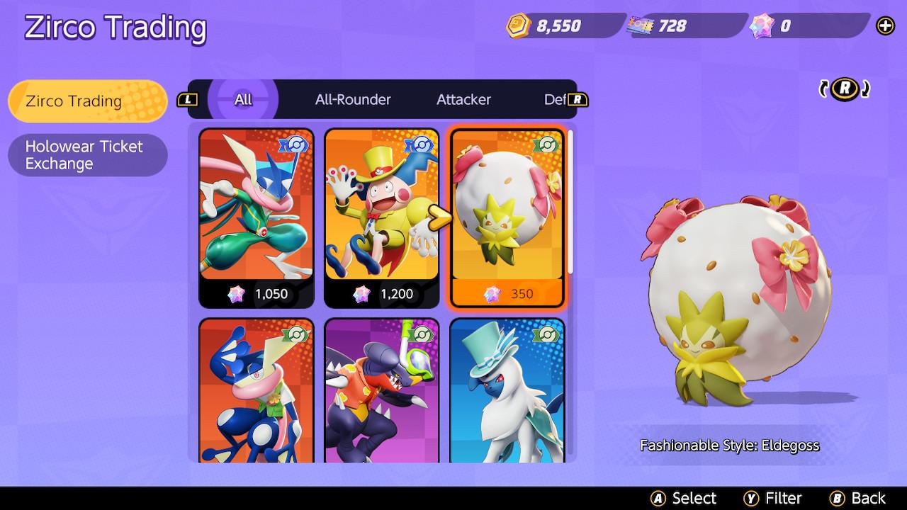 Eldegoss UNITE Pokémon