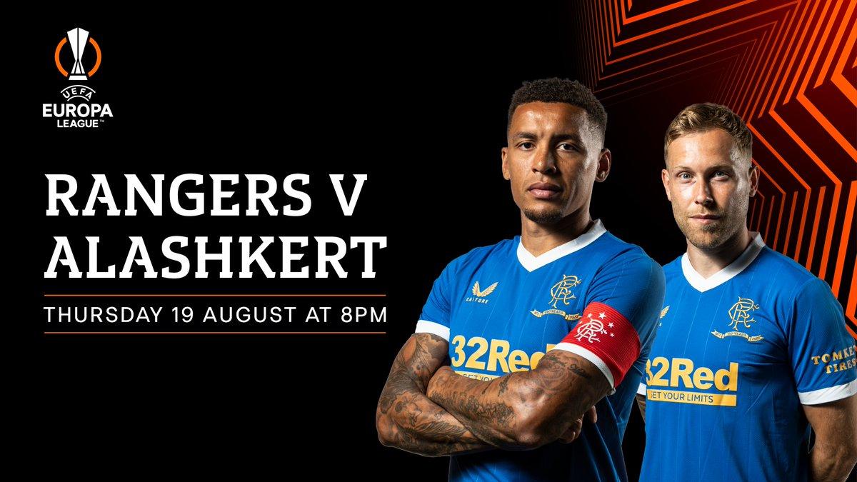 Glasgow Rangers vs Alashkert Highlights 19 August 2021