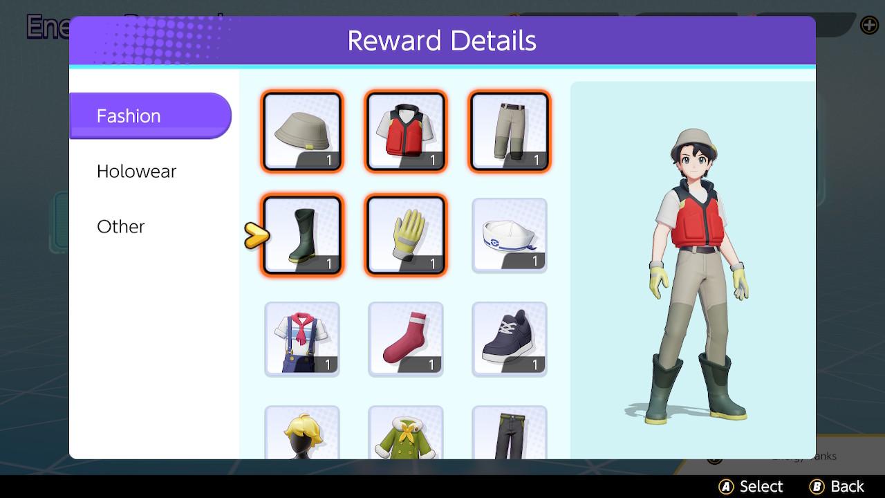 Set Pescador UNITE Pokémon