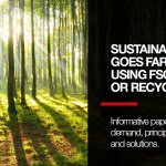 Image for the Tweet beginning: [#WhitePaper] Sustainable printing goes far