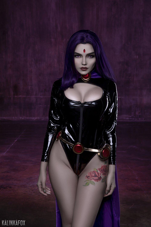 Kalinka Fox Raven Cosplay