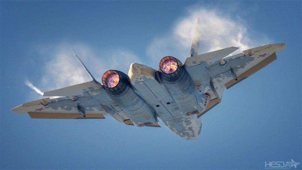Su-57 Stealth Fighter: News #7 - Page 39 E9FmOLeXoAAAD1f?format=jpg&name=medium