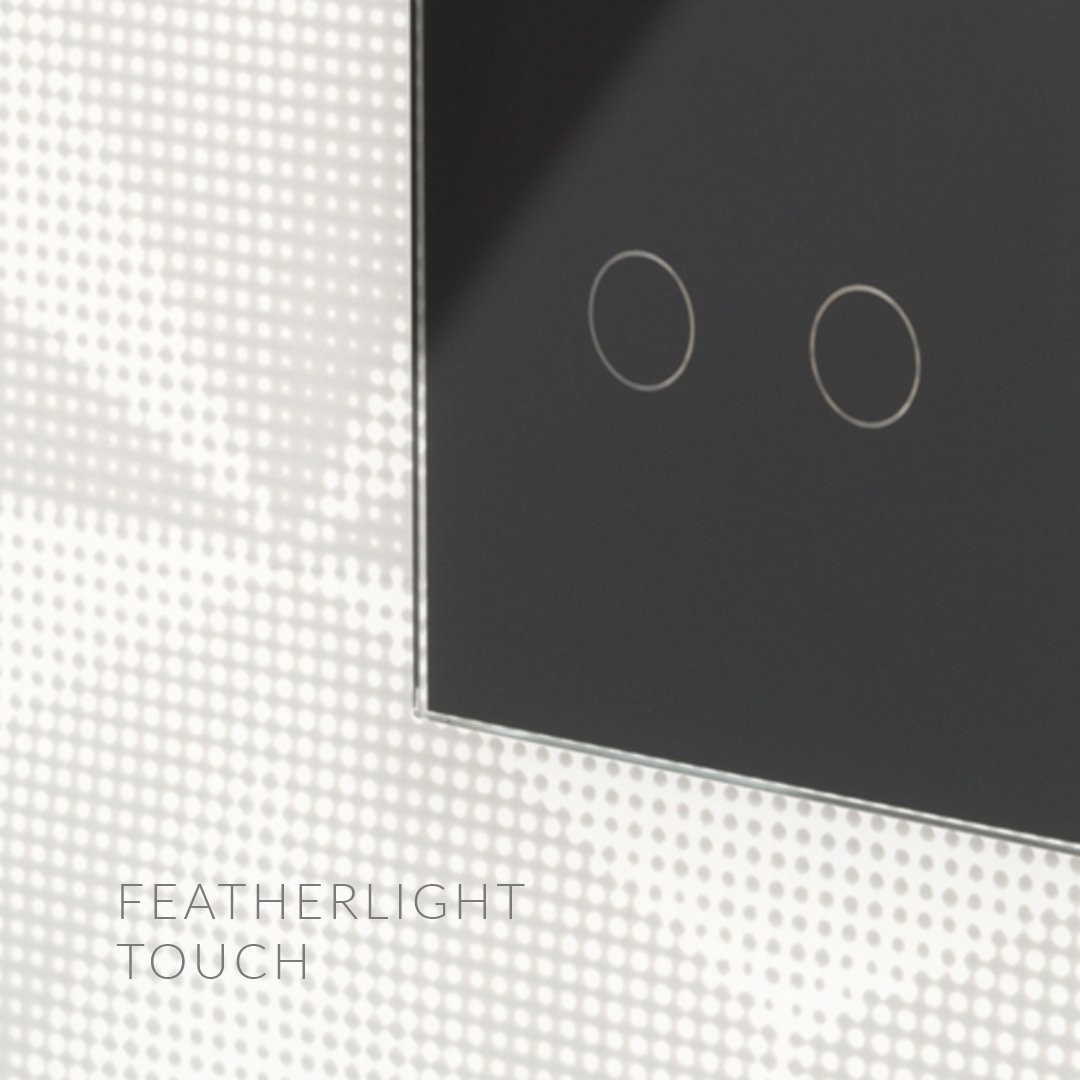 The Retrotouch touch range of switches only requires a featherlight touch to activate. retrotouch.co.uk/touch-light-sw… #touchswitch #homereno #renovation #lightswitches