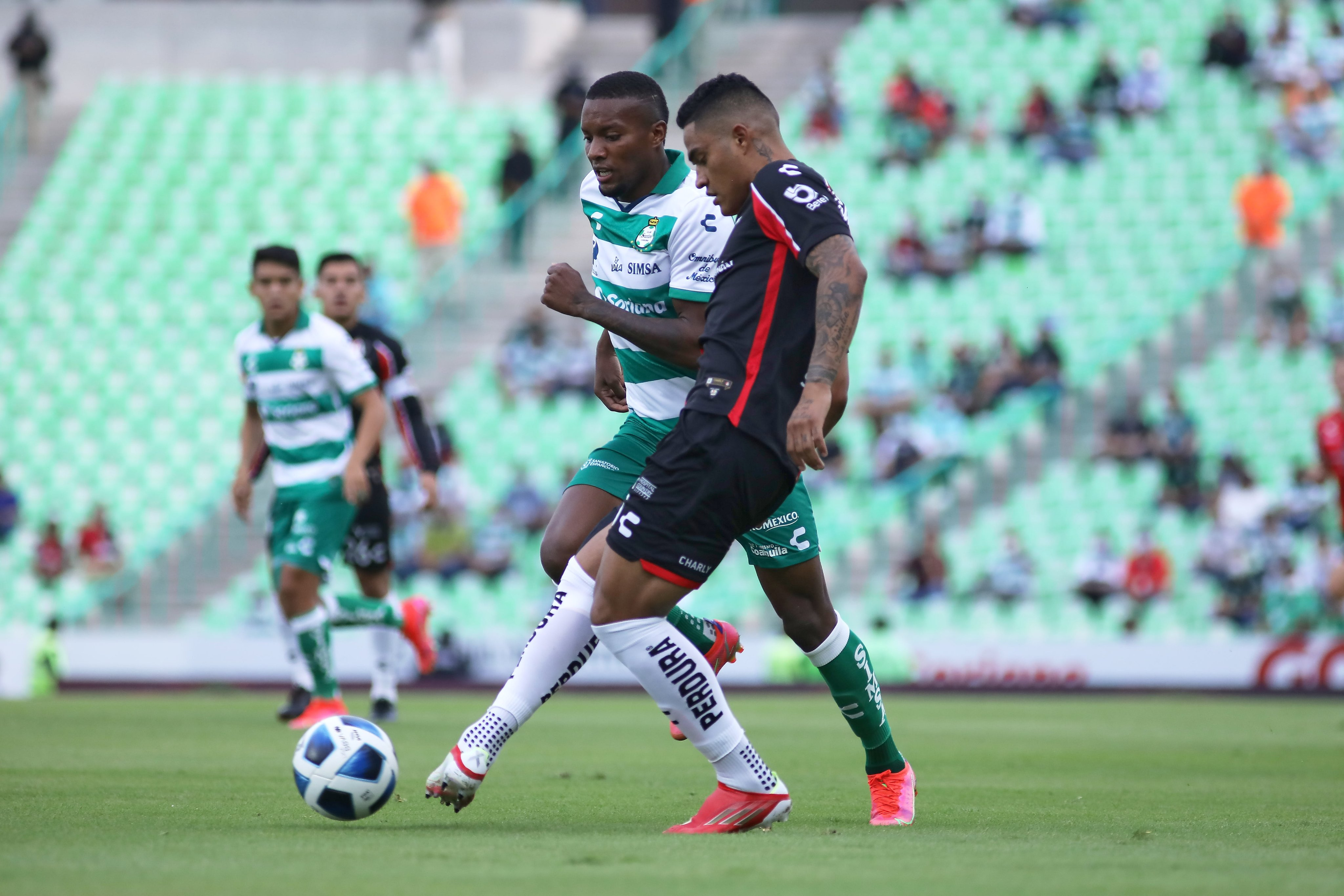 Santos vs Atlas 1-1 Torneo Apertura 2021
