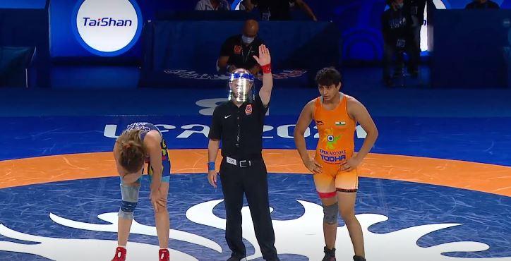 Sanju Devi, Saneh, and Bhateri storm into semifinals at the junior world championships