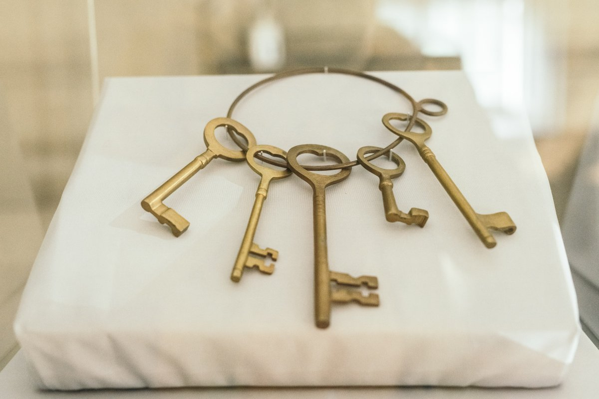 On the top floor a number of the public loaned objects that held significance to their mental health. I loaned HRP these giant keys that belonged to my late mother. As a young person experiencing difficulties they transported me to magical worlds where my struggles didn't exist.