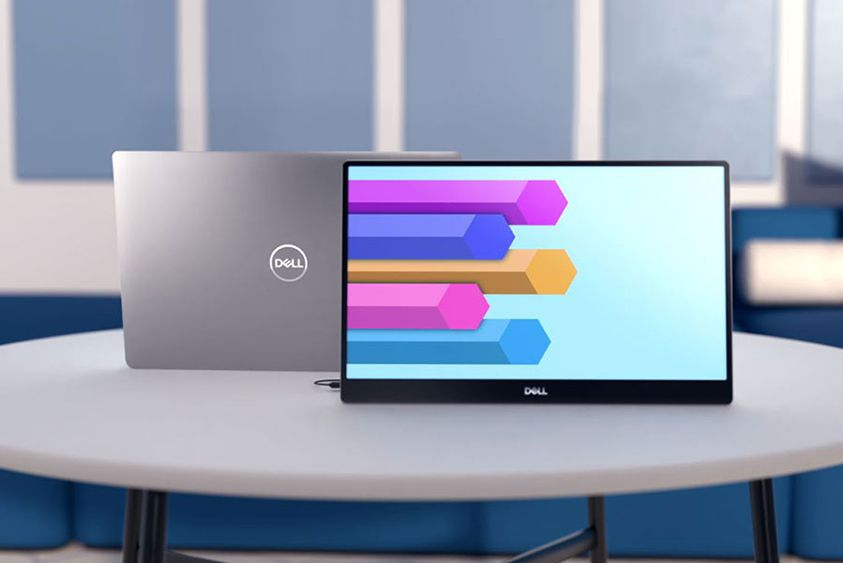 Dell's first portable monitor looks like it was yanked off an XPS laptop