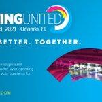 Image for the Tweet beginning: The @PRINTINGUnited 2021 is set