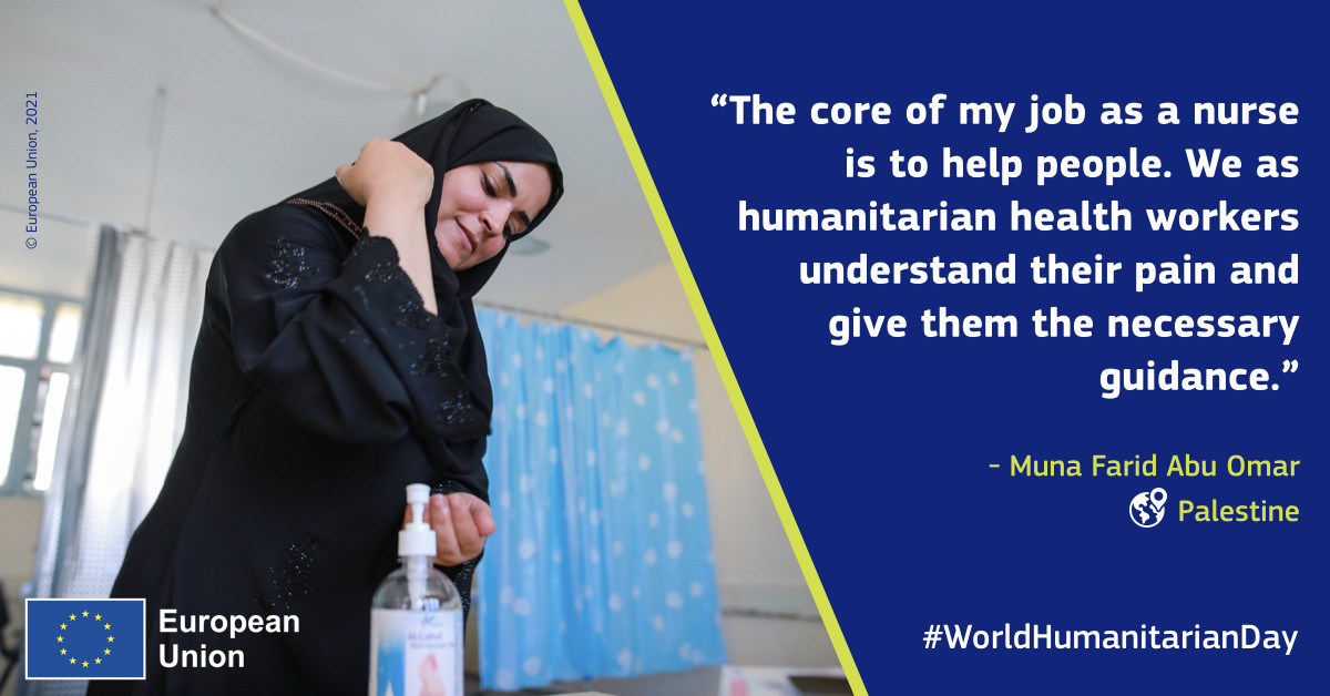#WorldHumanitarianDay: A day to honour those who continue with their life-saving work against all odds. A day to raise awareness about their invaluable role in delivering aid to people in need. A day to remember the importance of keeping them safe from danger.