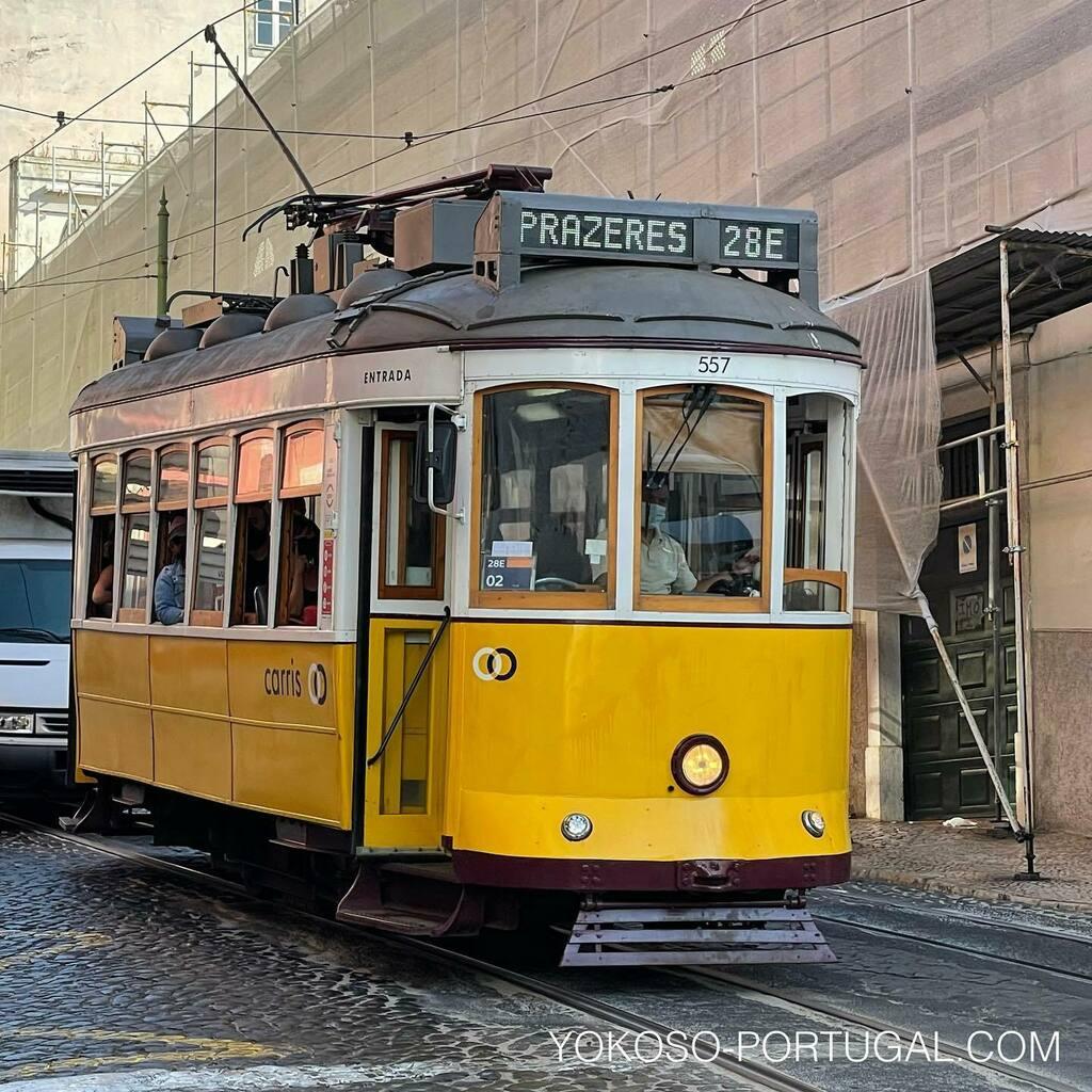 test ツイッターメディア - レトロな車両が旅行者に人気のリスボンの路面電車28番。最近方向幕がLEDライトになりました。 #ポルトガル #リスボン #路面電車 https://t.co/hwPgsd7CaN