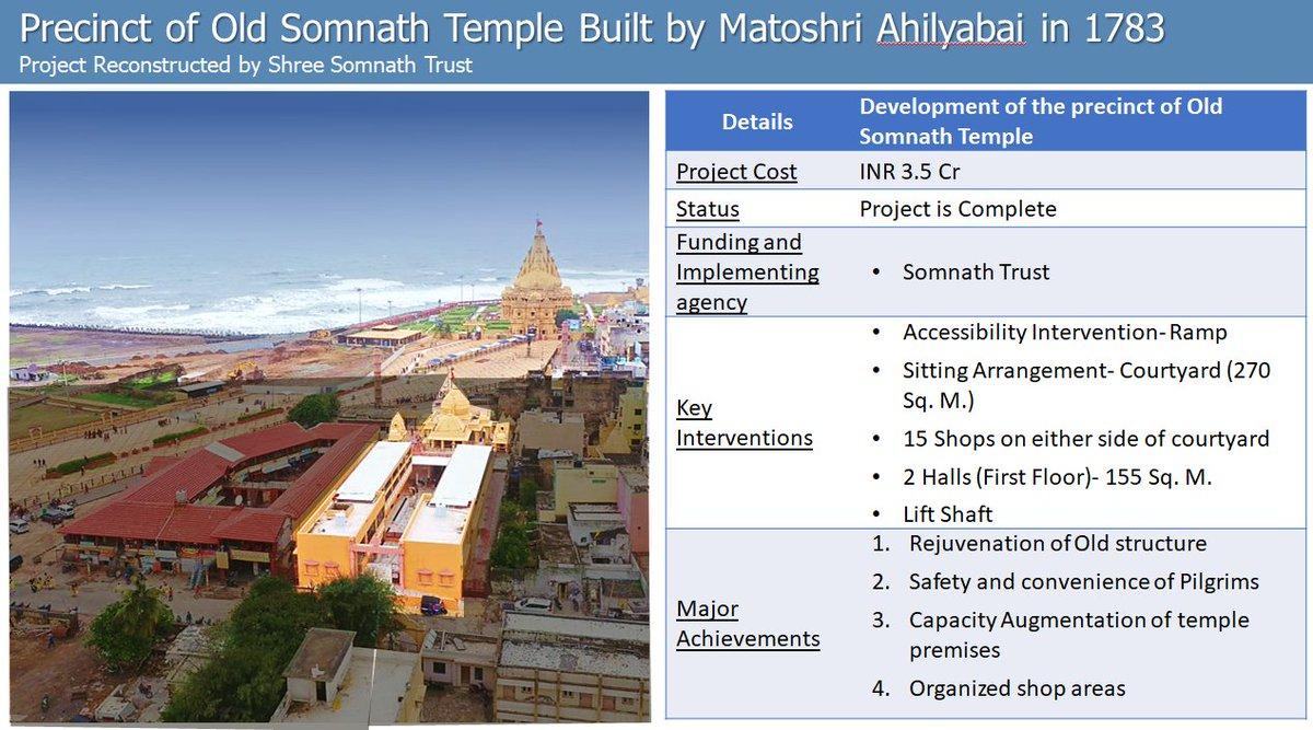 PM Modi to inaugurate a reconstructed old Somnath mandir originally built by Ahilyabai Holkar