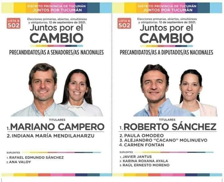 """Mauricio Argiro в Twitter: """"HOY TODOS LOS TUCUMANOS TIENEN LA OPORTUNIDAD  DE VOTAR A LOS MEJORES CANDIDATOS: MARIANO CAMPERO SENADOR ROBERTO SÁNCHEZ  DIPUTADO NACIONAL INDIANA MENDILAHARZU SENADORA PAULA OMODEO DIPUTADA  NACIONAL #HayFuturo…"""