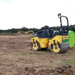 Image for the Tweet beginning: Groundworks commence on our site