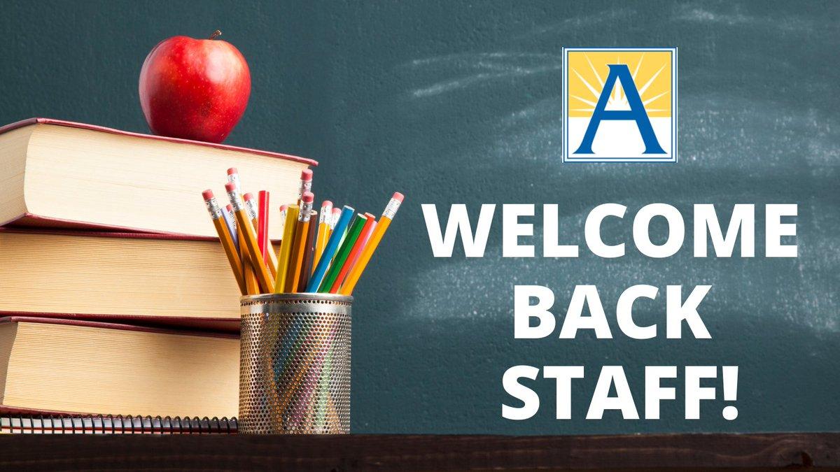 RTAPSВирджиния '> @APSВирджиния: С возвращением, учителя и персонал! Нам не терпится увидеть вас! Ты получил это! https://t.co/zxY3JMMfL9