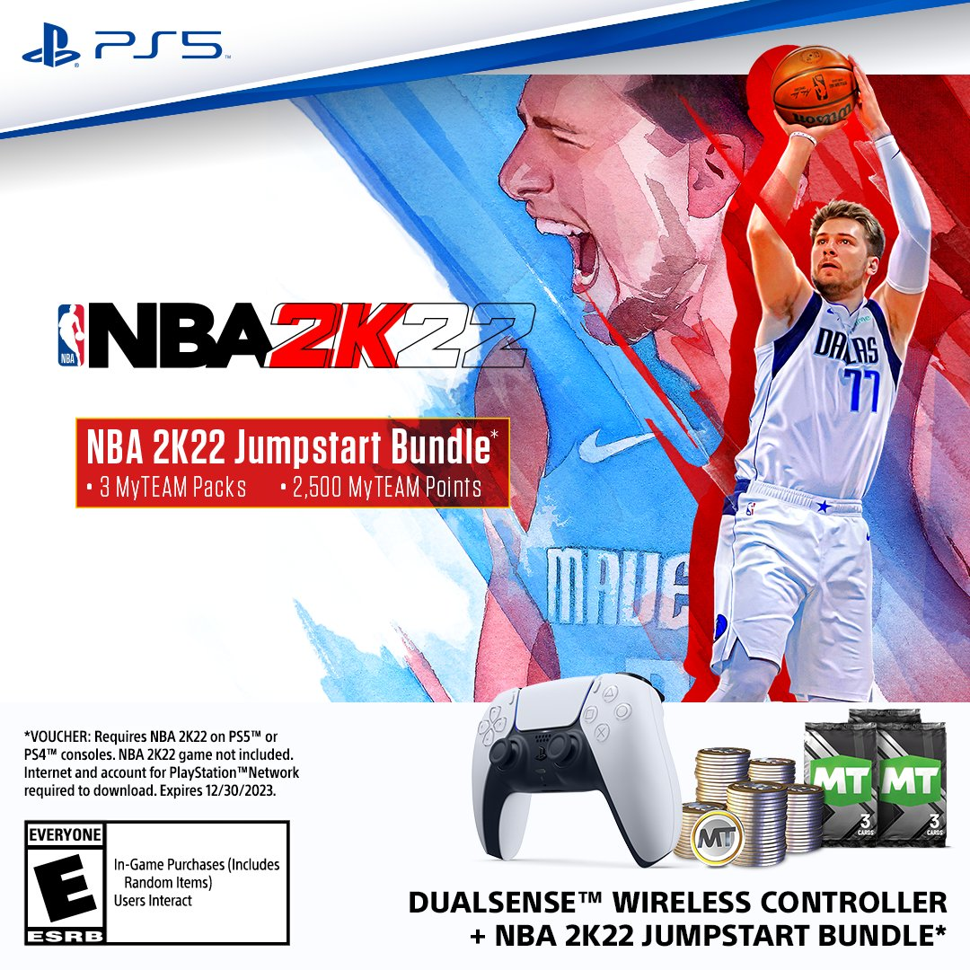 Playstation On Twitter Take It To The Rack September 10 With The Dualsense Wireless Controller Nba 2k22 Jumpstart Bundle Https T Co Xikd1wosqy Https T Co M6vntfqlj1