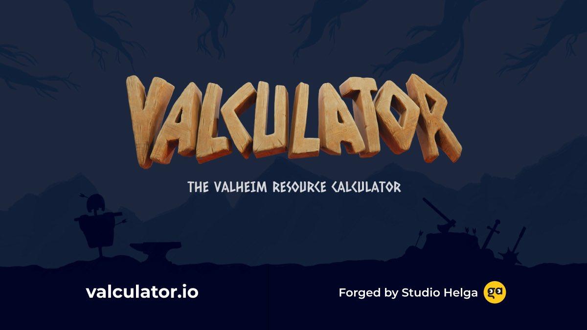 Valculator - The Valheim Resource Calculator
