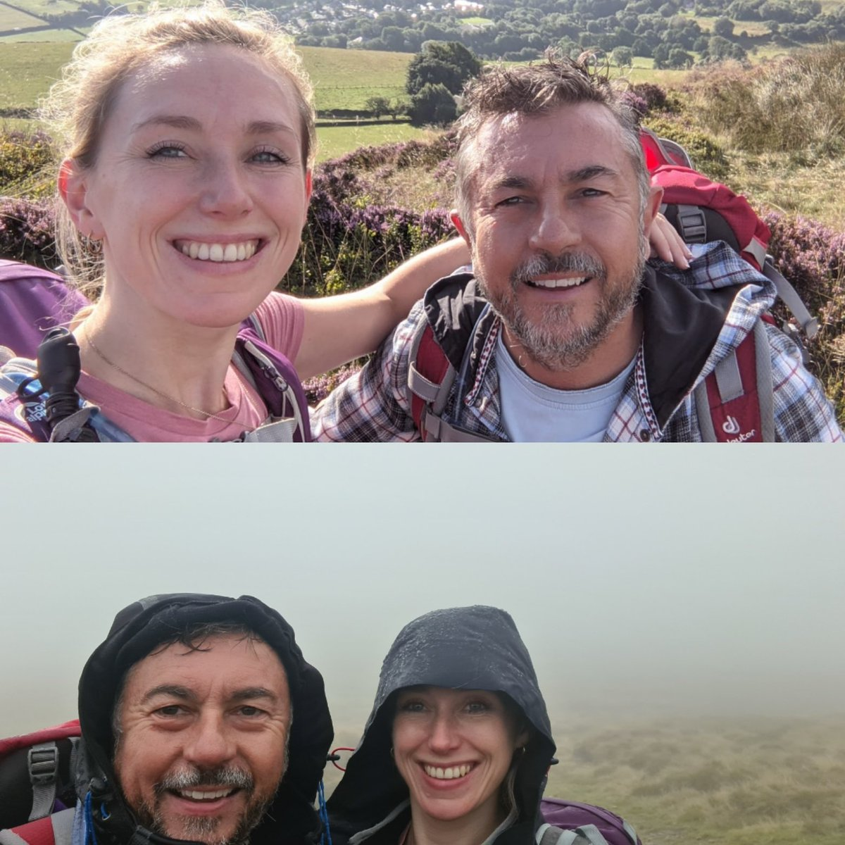 Typical Dark Peak Weather erm 'Changeable'. Up on Kinder for the day with my Amazing God Daughter #escapework #happydaysoff