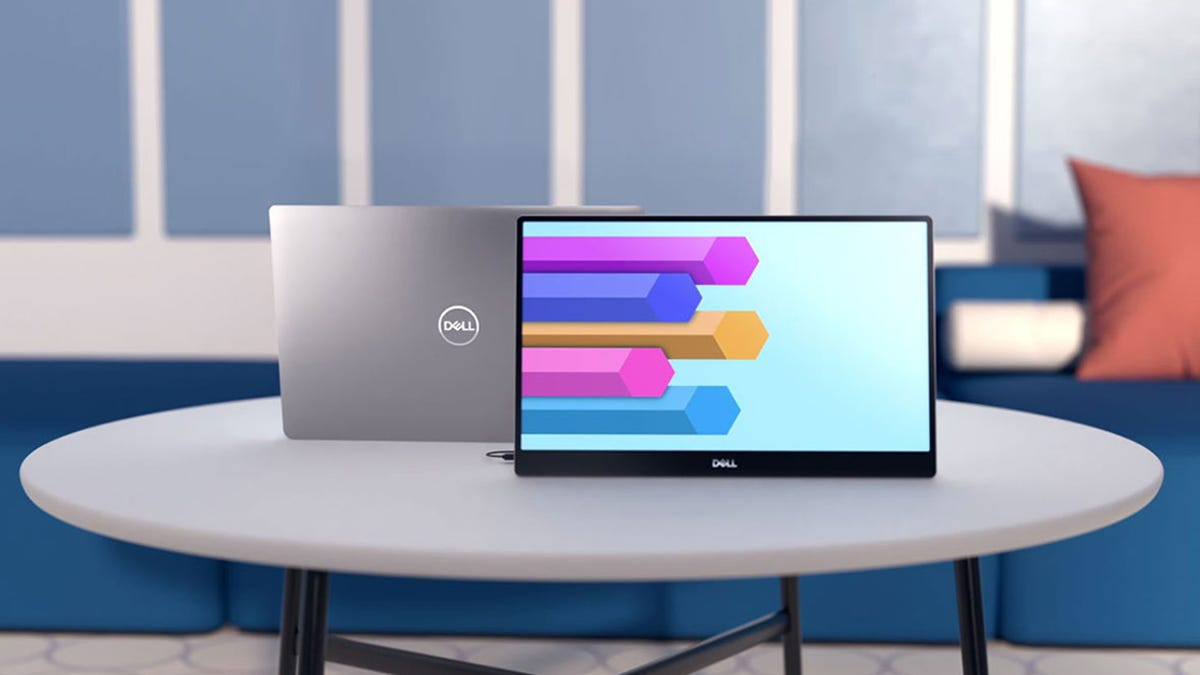 How About a Dell Portable Monitor to Go With That Dell XPS?