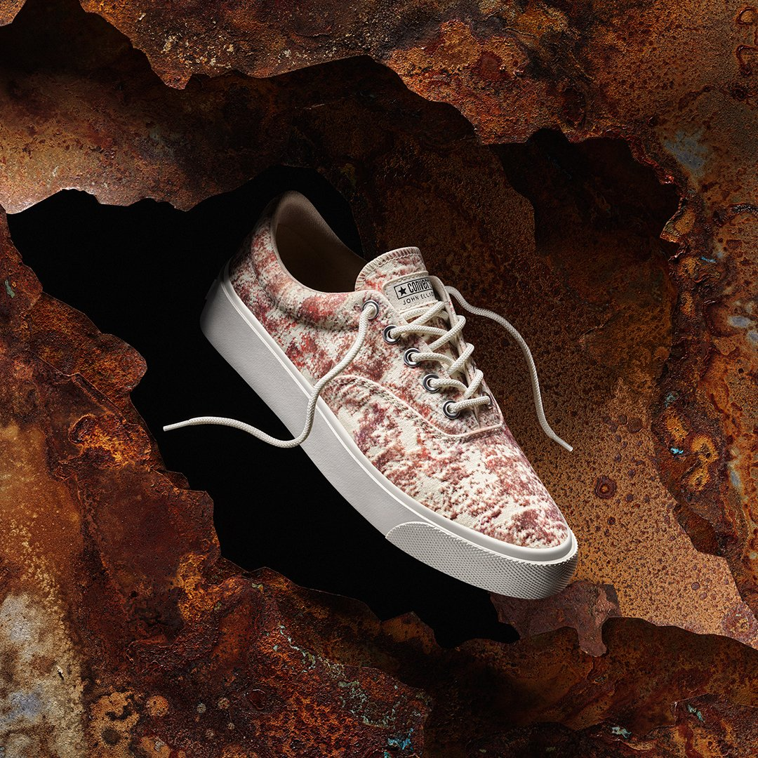 Menswear designer John Elliott recreates the look and feel of vintage patina, bringing colour and texture to an archival style that never gets old. Shop the collection now at Converse.co.za, and in store at Converse Sandton City. Also available at @shelflifestore.